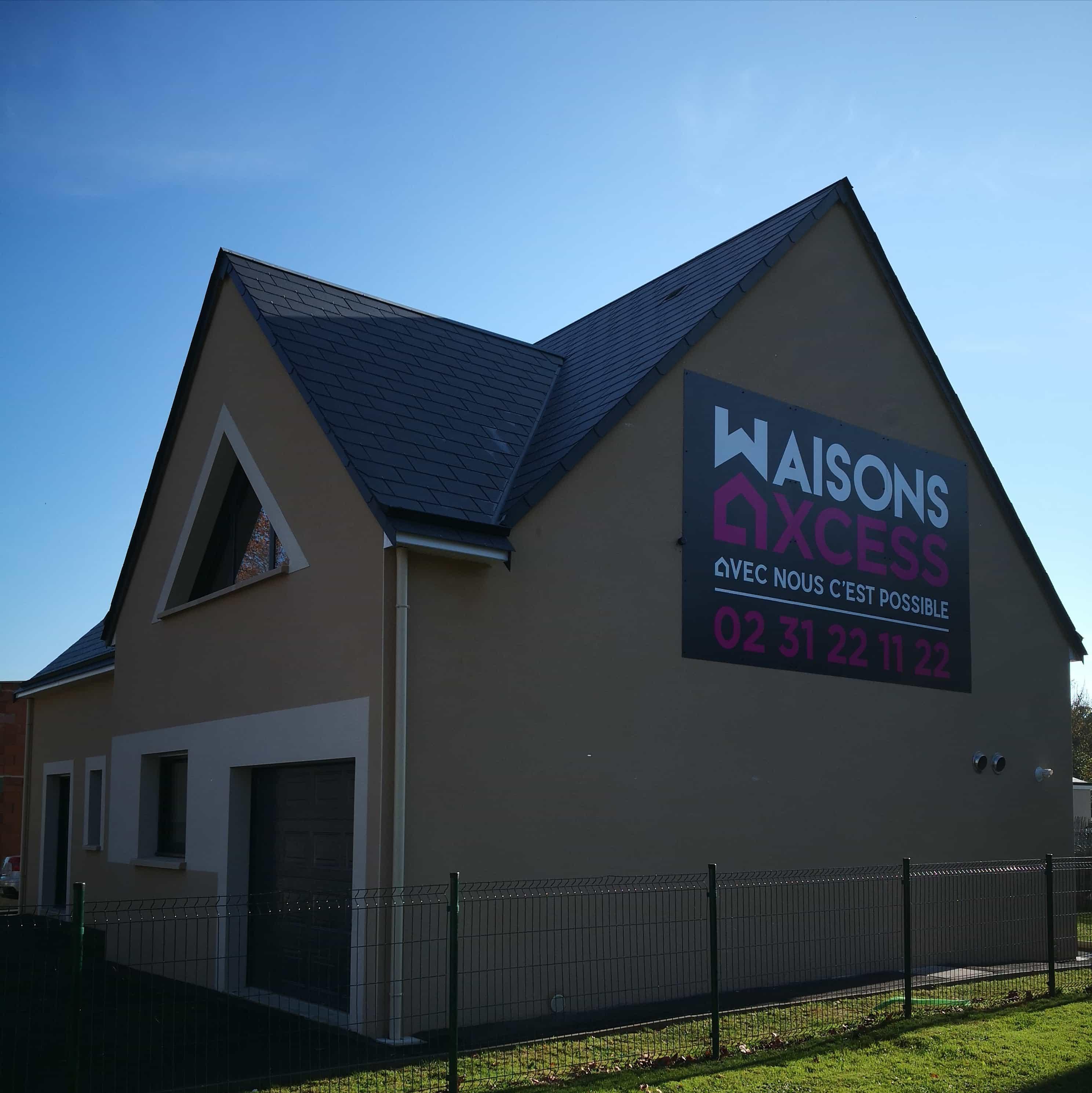 Agence de construction maison individuelle-Bayeux-Maison témoin