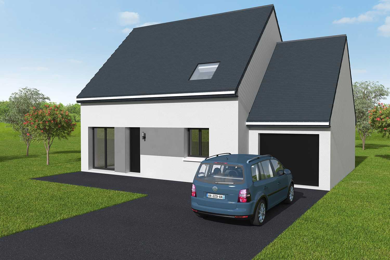 Constructeur maisons individuelles Bayeux-family 4CH+G 101 M² P2475
