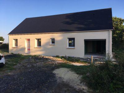Constructeur maisons individuelles Bayeux-Jade en cours de finition 98m²