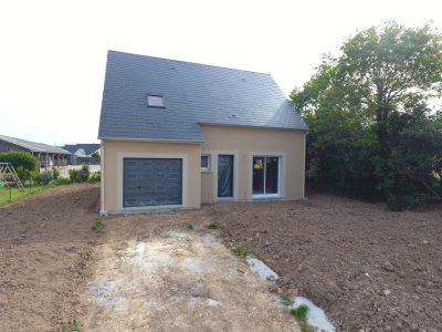 Constructeur maisons individuelles Bayeux-WELCOME de 103m² menuiseries couleurs