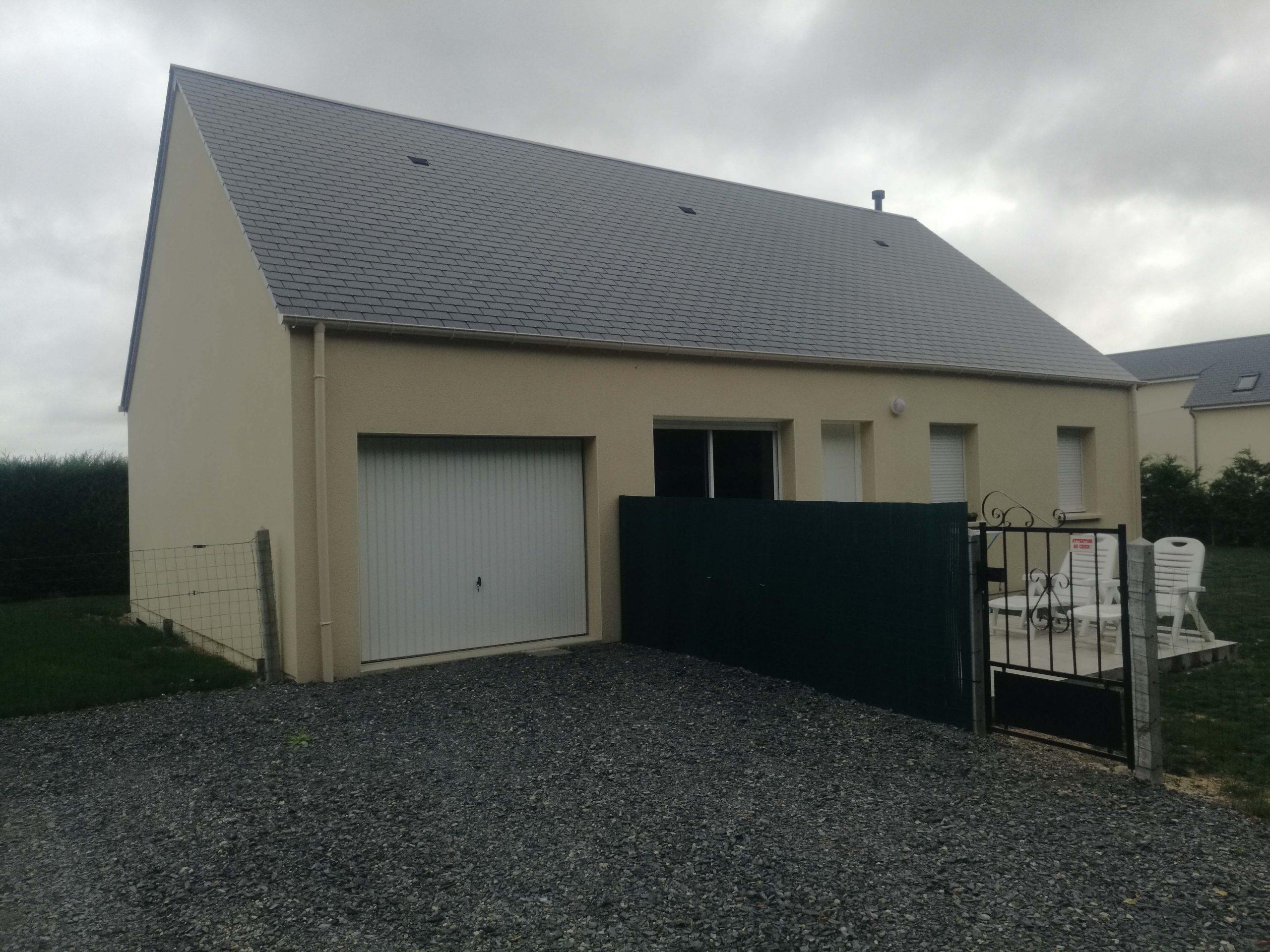Constructeur maisons individuelles Caen-Jade 80m² avec garage