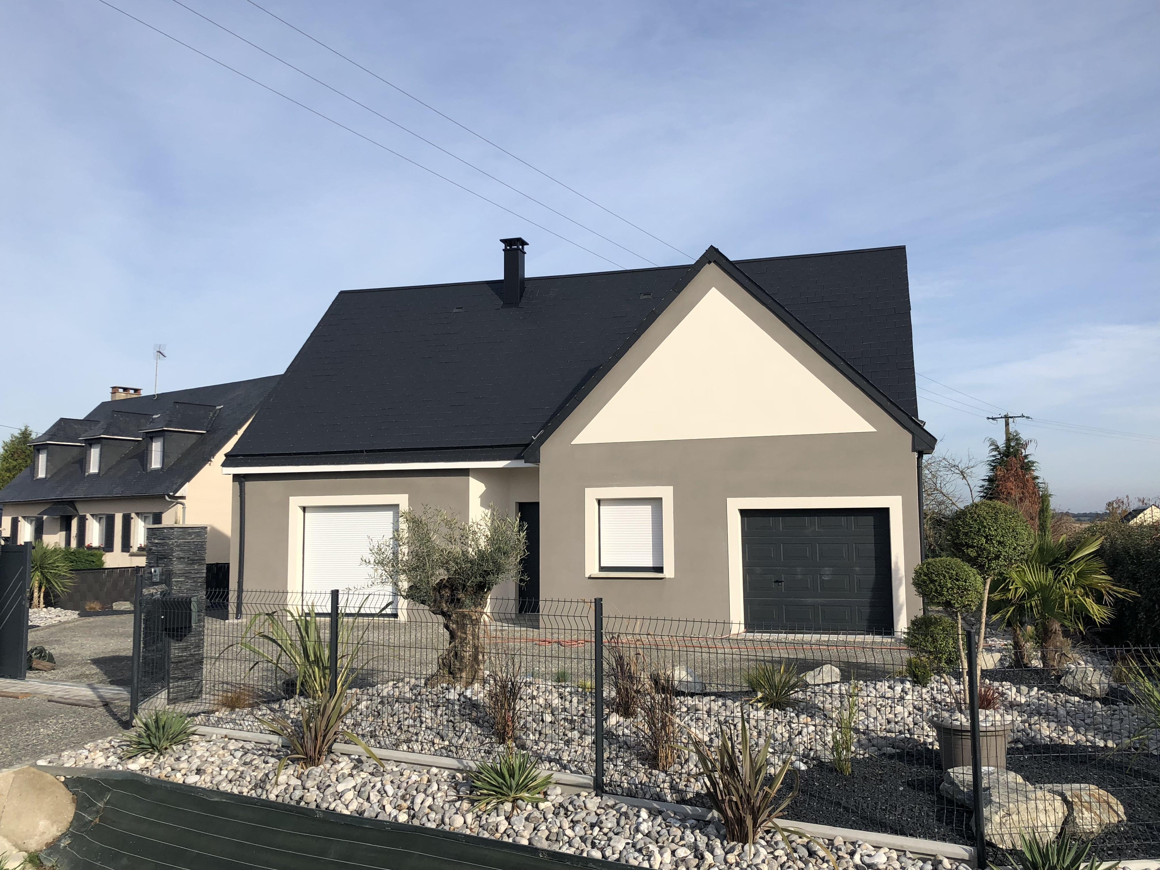 Constructeur maisons individuelles Caen-LOUNGE Bi-TON