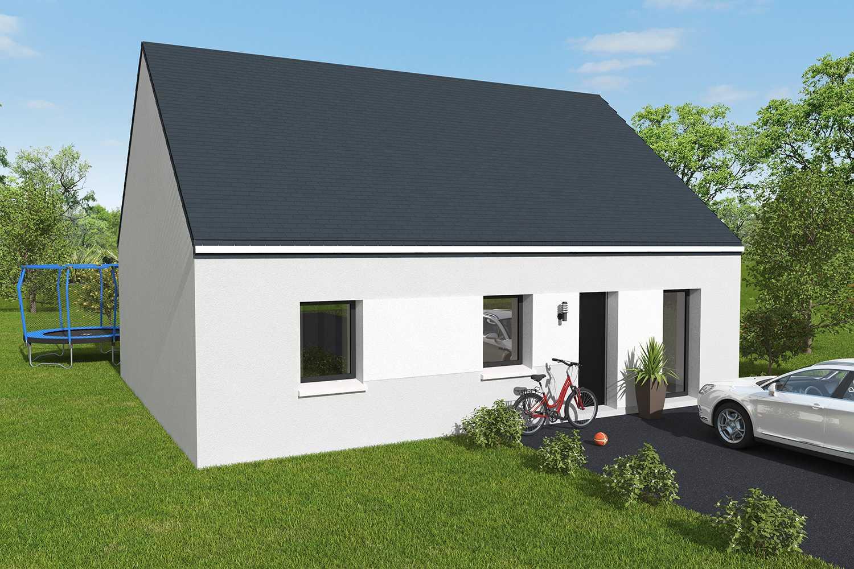 Constructeur maisons individuelles Caen-RUBIS 3CH 80 M² P1976