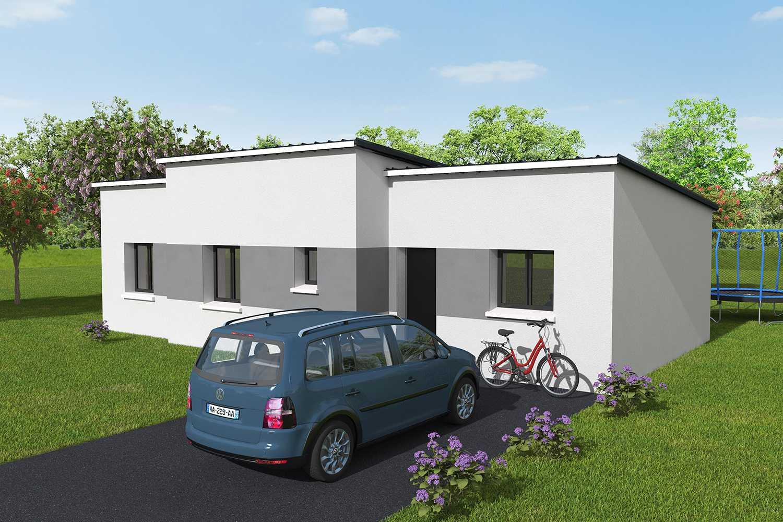 Constructeur maisons individuelles Lisieux-Confort 3CH 80 M² P2627