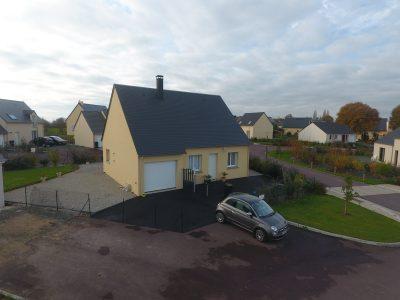 Constructeur maisons individuelles Lisieux-COZI de 76m² avec garage intégré