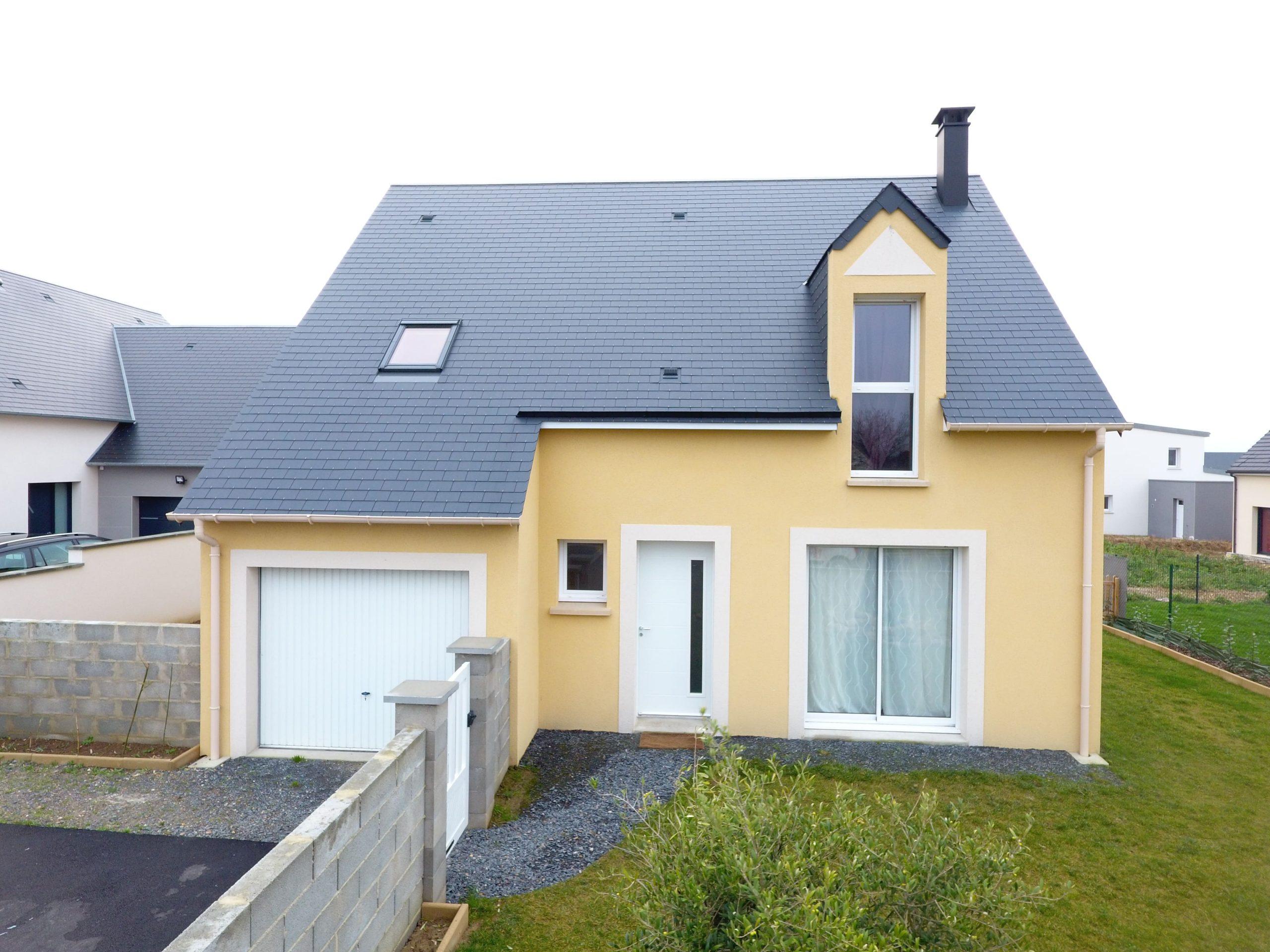 Constructeur maisons individuelles Lisieux-WELCOME 103m² mode et nature