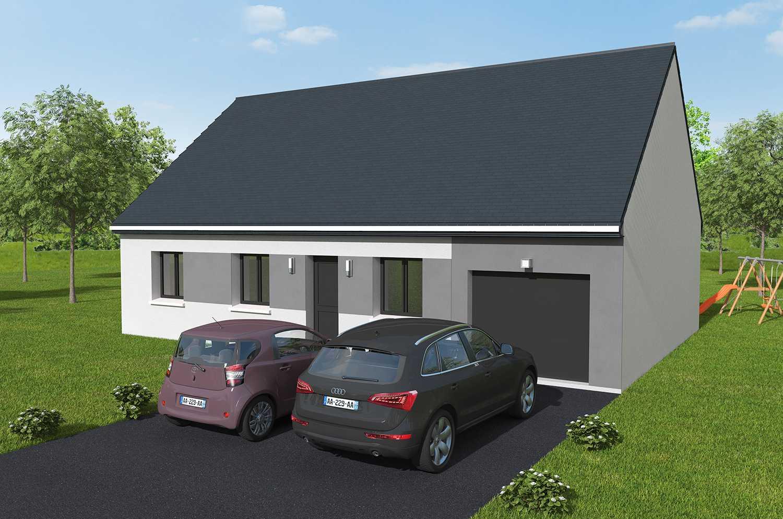 Construction maisons individuelles Bayeux-Maison Gamme COZI