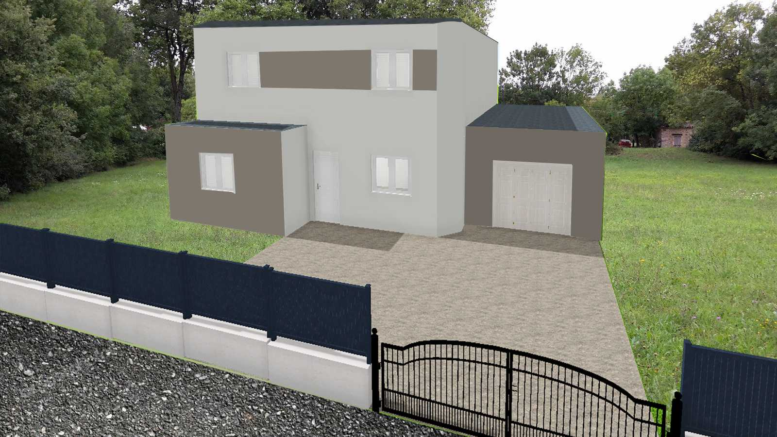 Construction maisons individuelles Bayeux-Maison gamme Exclusive