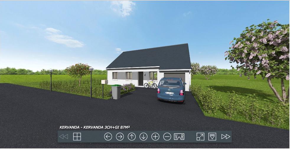 Construction maisons individuelles Caen-Cozi-Axcess