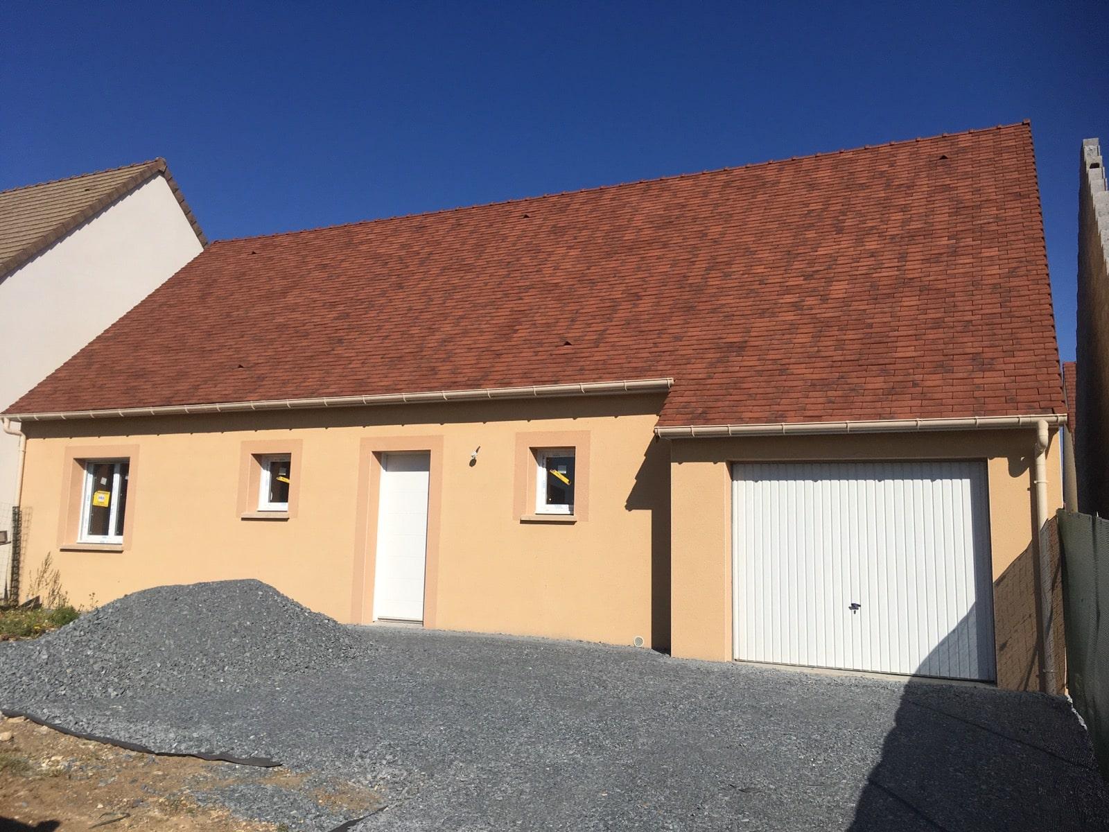 Construction maisons individuelles Caen-COZI de 99m² toiture tuiles