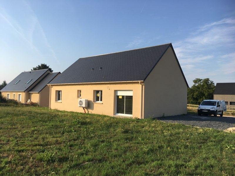 Construction maisons individuelles Caen-Laure de 85m² côté terrasse
