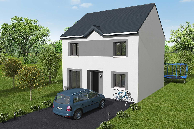 Construction maisons individuelles Caen-LOVE 5CH 113 M² P2628