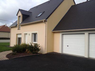 Construction maisons individuelles Lisieux-FAMILY sur-mesure avec lucarne et combles garage aménagés