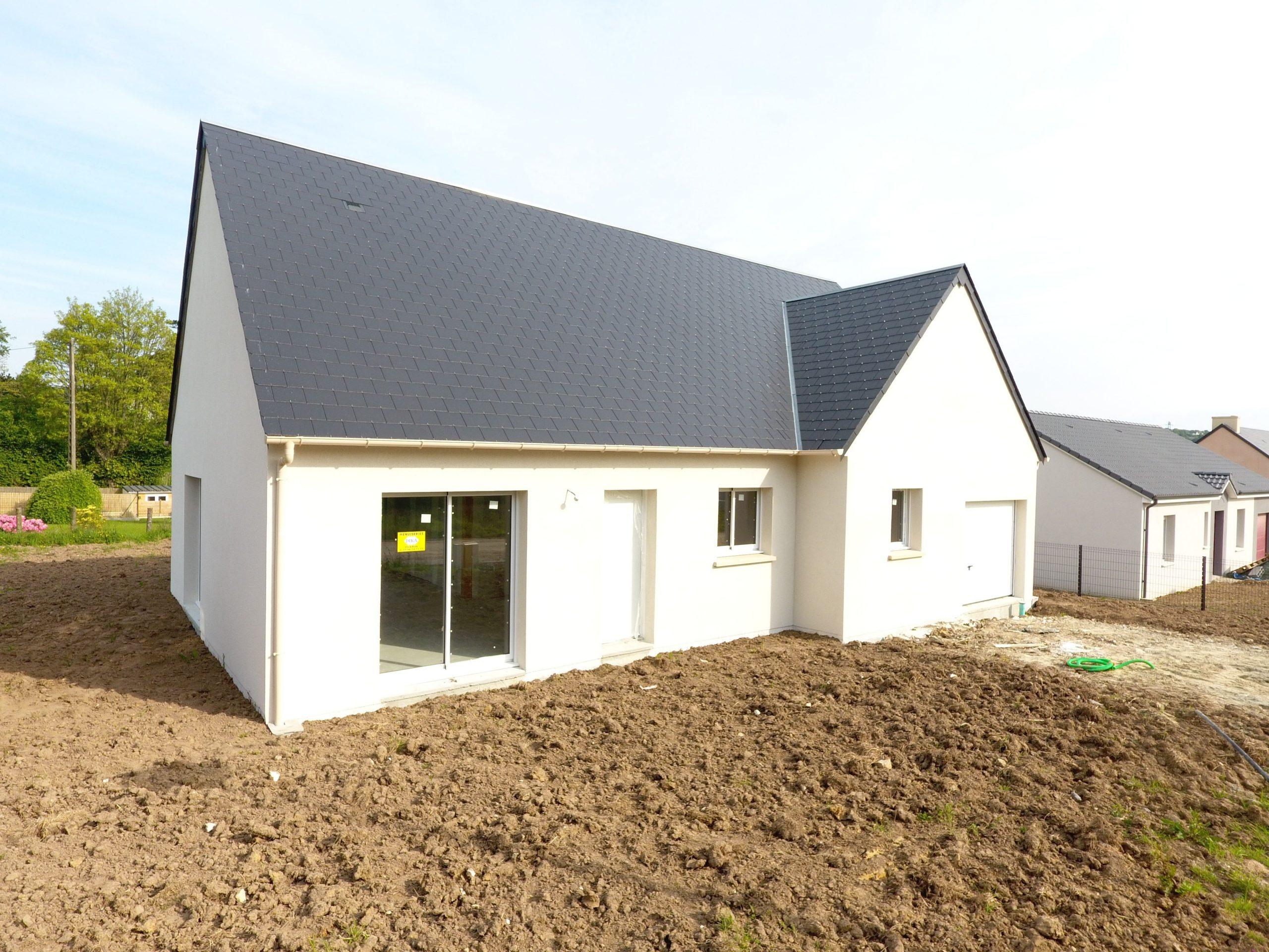 Construction maisons individuelles Lisieux-LOUNGE 87m² combles récupérables